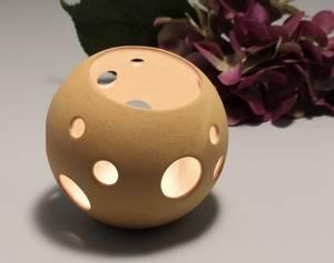 Bilde av Lykt - SKYGGE - Liten  Porselen T-lysholder